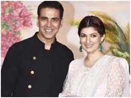 Akshay Kumar with his wife Twinkle