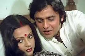 Rekha with her ex-husband Vinod