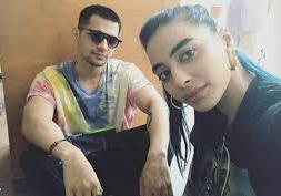 VJ Bani with her boyfriend