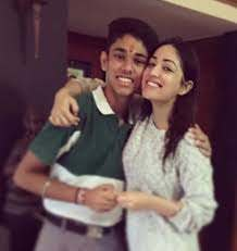 Yami Gautam with her brother