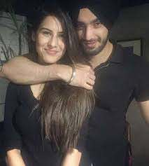 Shehzad Deol with his girlfriend