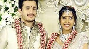 Akhil Akkineni with his ex-wife