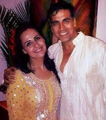 Akshay Kumar with his sister