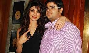 Priyanka Chopra with her brother