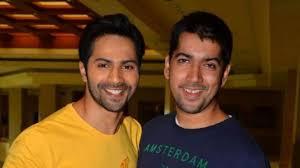 Varun Dhawan with his brother
