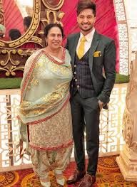Jassi Gill with his mother
