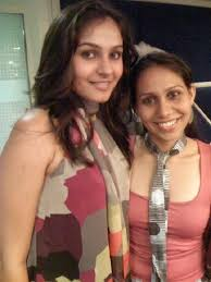 Andrea Jeremiah with her sister