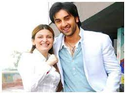 Ranbir Kapoor with his sister