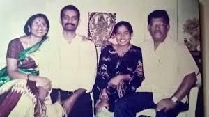 Mithali Raj with her family