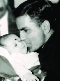 Preity Zinta with her father