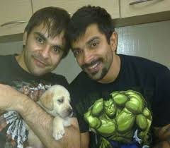 Karan Singh Grover with his brother