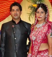Rubika Liyaquat with her husband