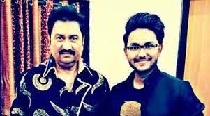 Jaan Kumar Sanu with his father