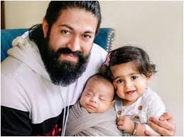 Yash with his children