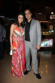 Preity Zinta with her brother