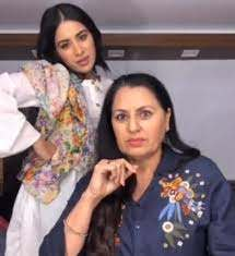 Sara Gurpal with her mother
