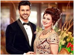 Vivek Dahiya with his wife