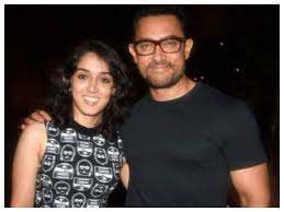 Aamir Khan with her daughter