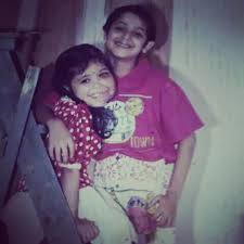 Vikram with his sister