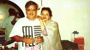 Rekha with her father