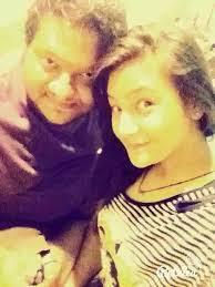 Aashika Bhatia with her father