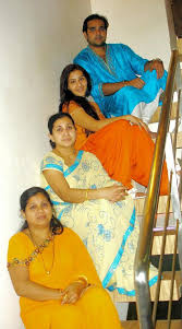Shilpa Shinde with her sisters