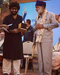 Arijit Singh with his father