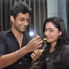 Tridha Choudhury with her boyfriend