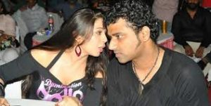 Charmy Kaur with her boyfriend