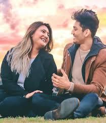 Aashika Bhatia with her boyfriend
