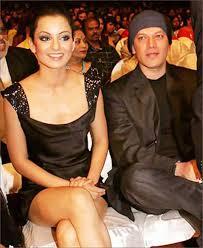 Kangana Ranaut with her ex-boyfriend Aditya