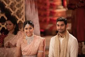 Shriya Bhupal with her husband Anindith