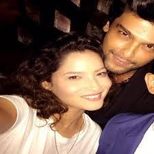 Kushal Tandon with his ex-girlfriend Ankita