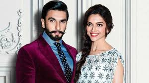 Ranveer Singh with his wife Deepika