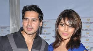 Bipasha Basu with her ex-boyfriend Dino