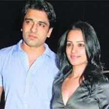 Anita Hassanandani with her ex-boyfriend Eijaz