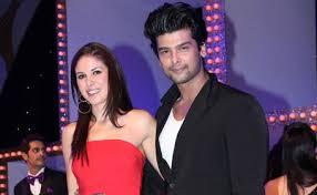 Kushal Tandon with his ex-girlfriend Elena