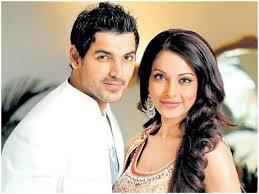 Bipasha Basu with her ex-boyfriend John