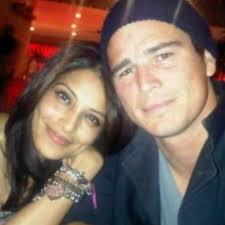 Bipasha Basu with her ex-boyfriend Josh
