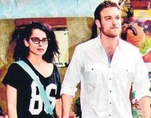 Kangana Ranaut with her ex-boyfriend Nicholas