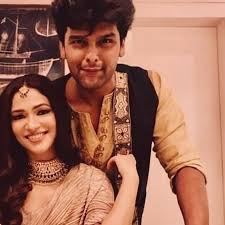 Kushal Tandon with his ex-girlfriend Ridhima