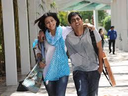 Siddharth with his ex-girlfriend Shruti