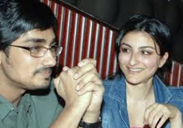 Siddharth with his ex-girlfriend Soha
