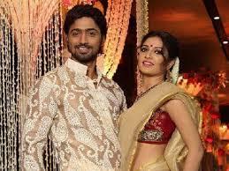 Dev with his ex-girlfriend Subhasree