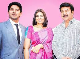 Dulquer Salmaan with his parents
