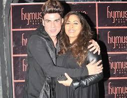 Geeta Kapur with her boyfriend