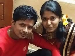 Madhu Priya with her husband