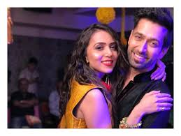 Nakuul Mehta with his wife