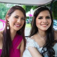Rochelle Rao with her sister
