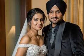 Geeta Basra with her husband